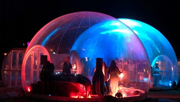 Organiser un évènement en toute originalité avec un dôme gonflable