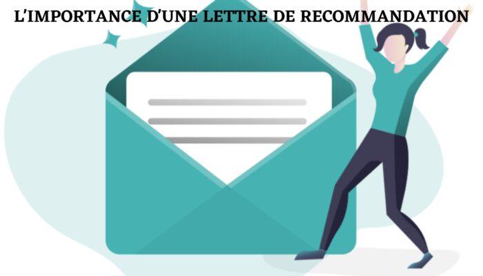 Comment demander une lettre de recommandation?